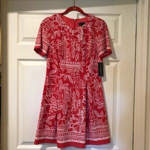 Jessica Howard coral dress